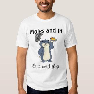 Moles and Pi T Shirt