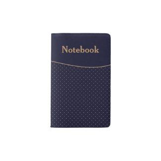 Moleskine Notebook Dark Blue-Gold