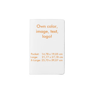 Moleskine Notebook uni White ~ Own Color