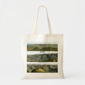 MOLESON Swiss Alps 360° Panorama Tote Bag