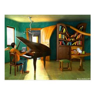 Molestar al pianista postal