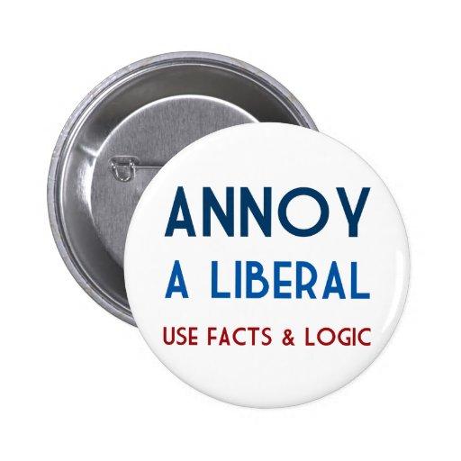 Moleste a un liberal pin redondo 5 cm