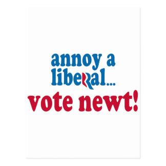 Moleste a un liberal postal