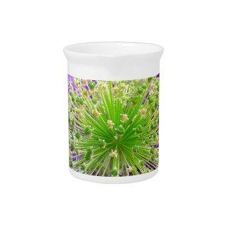 Molestia de la flor jarras de beber