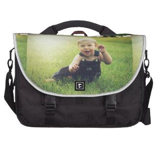 Molestia de la imagen del bebé bolsas para portátil