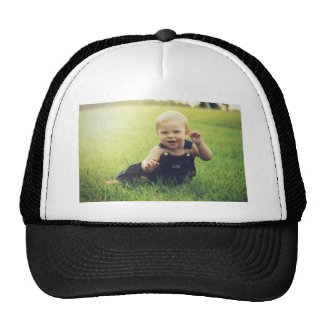Molestia de la imagen del bebé gorra