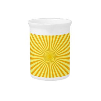 Molestia de la sol jarras para bebida