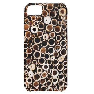 molestia natural de madera del estilo de la textur funda para iPhone 5C