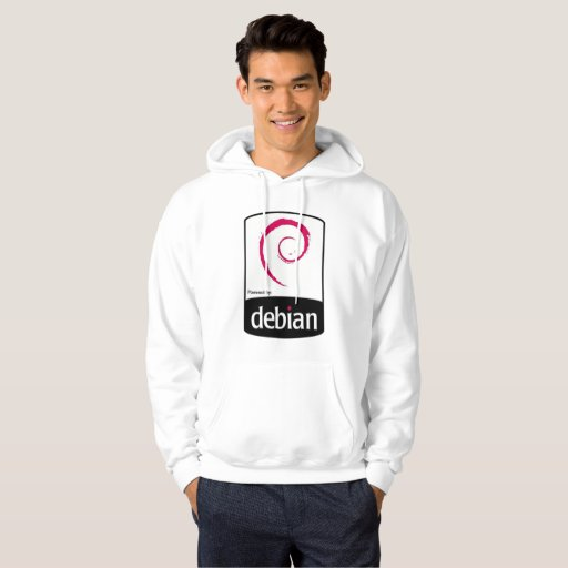 Moletom Debian Powered Hoodie