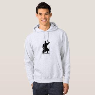 Moletom with Basic Pointed hood Ninja Hoodie
