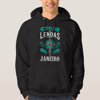 Moletom with Pointed hood Birth Legends of Janeiro Hoodie