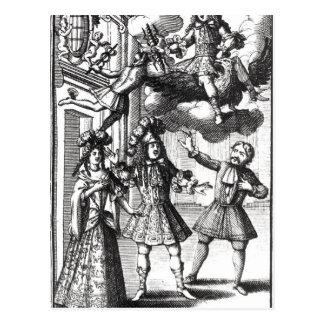 Moliere 'Amphitryon' Postcard