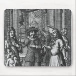 Moliere as Harpagon, frontispiece illustration Mouse Pad
