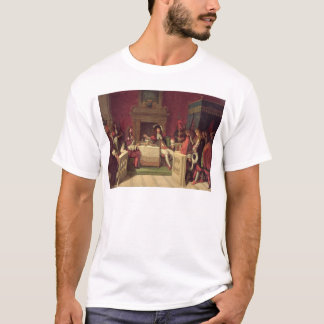 Moliere  Dining with Louis XIV  1857 T-Shirt
