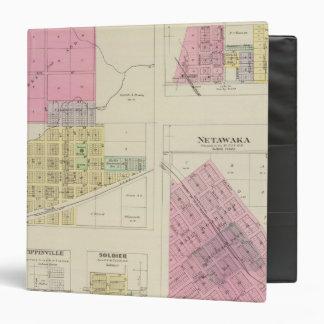 "Moline, Circleville, Netawaka, Tippinville, Kansas Carpeta 1 1/2"""