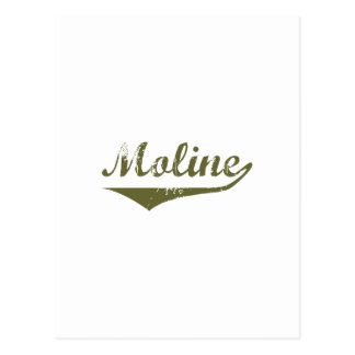 Moline  Revolution t shirts Postcard