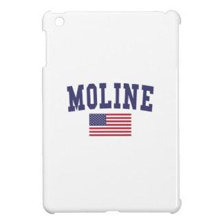 Moline US Flag iPad Mini Case