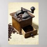 Molinillo de café impresiones