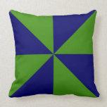 Molinillo de viento adaptable del verde/de los almohadas