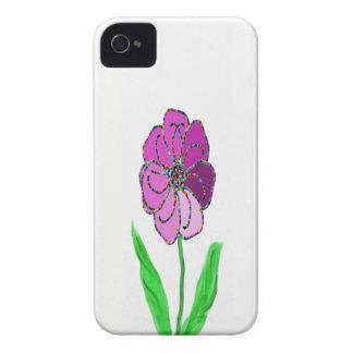 molinillo de viento de la flor iPhone 4 protector