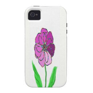 molinillo de viento de la flor iPhone 4/4S carcasas