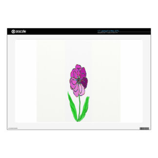 molinillo de viento de la flor skins para 43,2cm portátiles