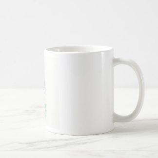 molinillo de viento de la flor taza de café
