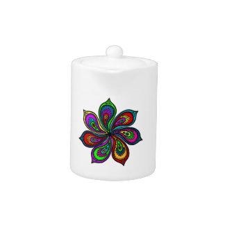 Molinillo de viento de Paisley de colores