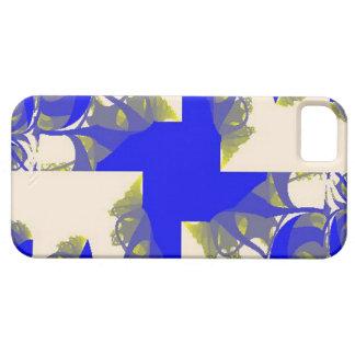 Molinillo de viento en azul y blanco funda para iPhone SE/5/5s