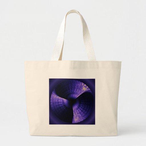 Molinillo de viento púrpura bolsa