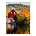Molino Ashland New Hampshire del grano para moler Postales
