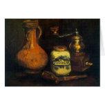 Molino de café de Vincent van Gogh Tarjetón