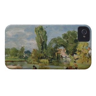 Molino de Flatford, c.1810-11 (aceite en el panel) Case-Mate iPhone 4 Protector