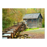 Molino de Mingus, Great Smoky Mountains Invitación 12,7 X 17,8 Cm