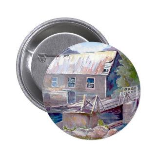 Molino de Twiddys, Ontario Pin Redondo De 2 Pulgadas