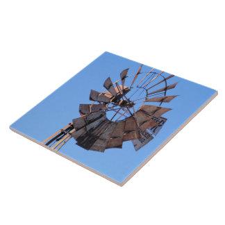 Molino de viento 1 tejas  cerámicas