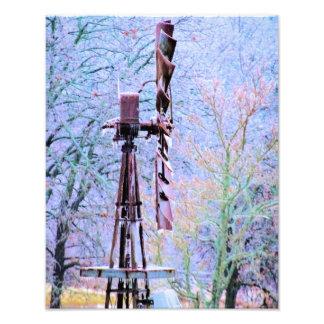 Molino de viento 2 arte fotográfico