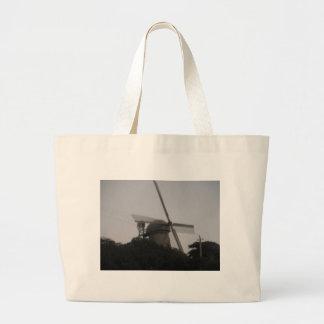 Molino de viento bolsa tela grande
