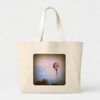 Molino de viento bolsa de mano
