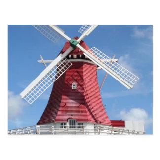 Molino de viento de Aruba Tarjetas Postales