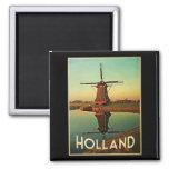 Molino de viento de Holanda Imanes Para Frigoríficos