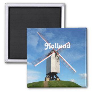 Molino de viento de Holanda Imán Para Frigorifico