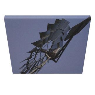 molino de viento de la cruz del sur de Australia Impresion En Lona