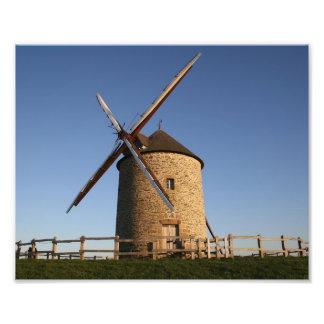 Molino de viento de Moidrey, Normandía, Francia Cojinete