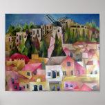 Molino de viento de Montefiori Posters
