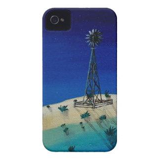 Molino de viento de Oklahoma Case-Mate iPhone 4 Protectores
