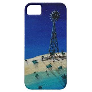 Molino de viento de Oklahoma iPhone 5 Carcasas