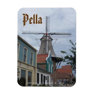 Molino de viento de Vermeer, pueblo histórico, Pel Iman