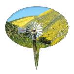 Molino de viento decoraciones para tartas
