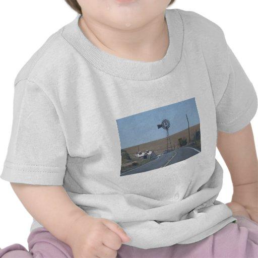 Molino de viento del este de Washington Camiseta